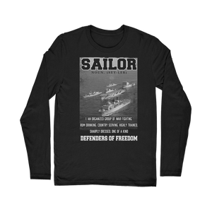 Sailors - Defenders Of Freedom Classic Long Sleeve T-Shirt