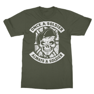 Once A Soldier Always A Soldier Classic Adult T-Shirt
