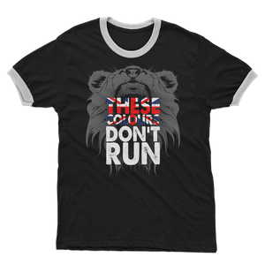 These Colours Don't Run Adult Ringer T-Shirt