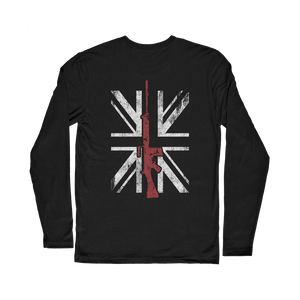 Thin Red Line - SLR (Back Print) Classic Long Sleeve T-Shirt