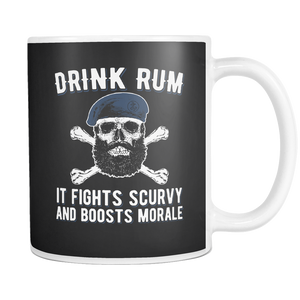 Drink Rum It Fights Scurvy And Boosts Morale Mug