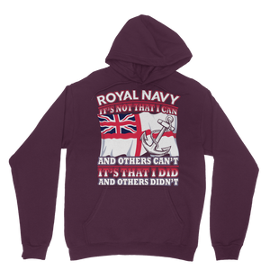 Royal Navy - It's That I Did Classic Adult Hoodie