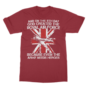 Royal Air Force Are Heroes Classic Adult T-Shirt