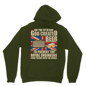 Royal Engineers Love Beer Classic Adult Hoodie