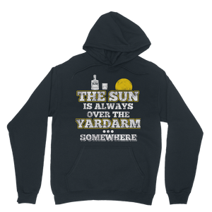 The Sun Is Always Over The Yardarm Somewhere Classic Adult Hoodie
