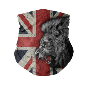 British Lion All Over Printed Sublimation Neck Gaiter
