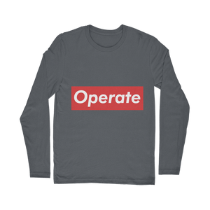 Operate Classic Long Sleeve T-Shirt