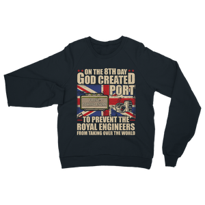 Royal Engineers Love Port Classic Adult Sweatshirt