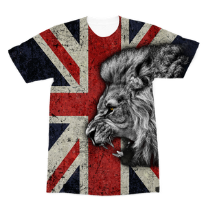 British Lion All Over Printed Premium Sublimation Adult T-Shirt
