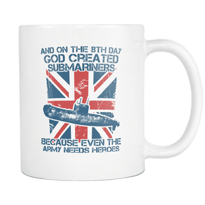 Submariners Are Heroes Mug
