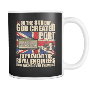 Royal Engineers Love Port Mug