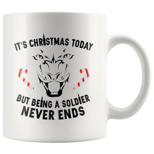 It's Christmas Today.. White 11oz Mug