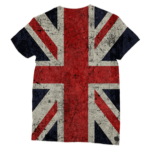 Union Jack All Over Printed T-Shirt