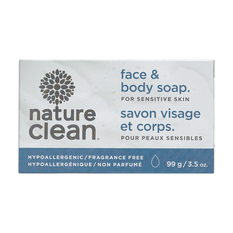 Sensitive Face-Body-Bath Bar - 99G - Fragrance Free