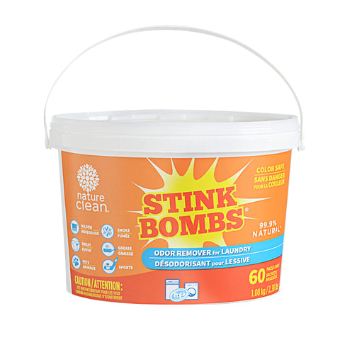 Stink Bombs - 60 pacs - Fragrance Free