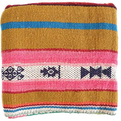 Peruvian Frazada Rug / Blanket - Bright Southwest ||  Keeka Collection