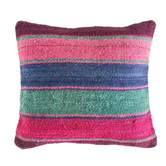 Peruvian Frazada Pillow - Lago ||  Keeka Collection