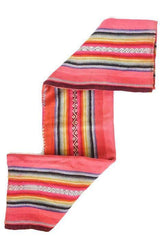 Peruvian Frazada Rug / Blanket - Punch ||  Keeka Collection