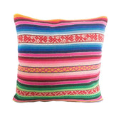 Striped Manta Pillow - Miraflores // Keeka Collection