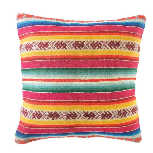 Striped Manta Pillow - Cha Cha // Keeka Collection