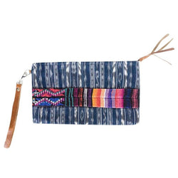 Embroidered Corte Clutch - Monterrico
