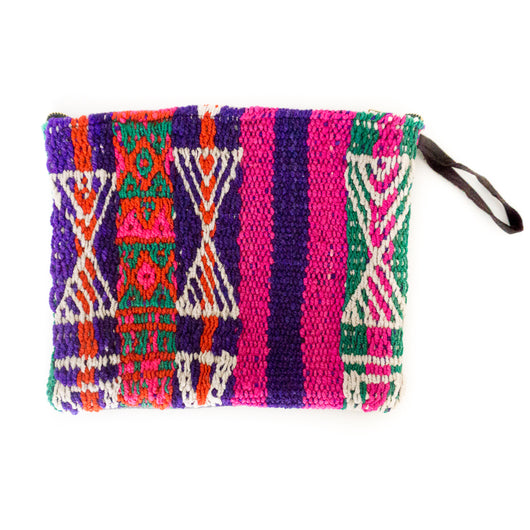 Peruvian Frazada Clutch - Hilo || Keeka Collection