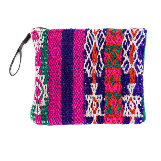Peruvian Frazada Clutch - Kona || Keeka Collection
