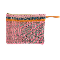 Peruvian Frazada Clutch - Cherry Blossom || Keeka Collection