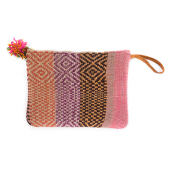 Peruvian Frazada Clutch - Mirage || Keeka Collection