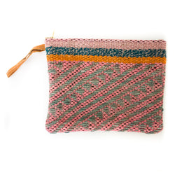 Peruvian Frazada Clutch - Peony || Keeka Collection