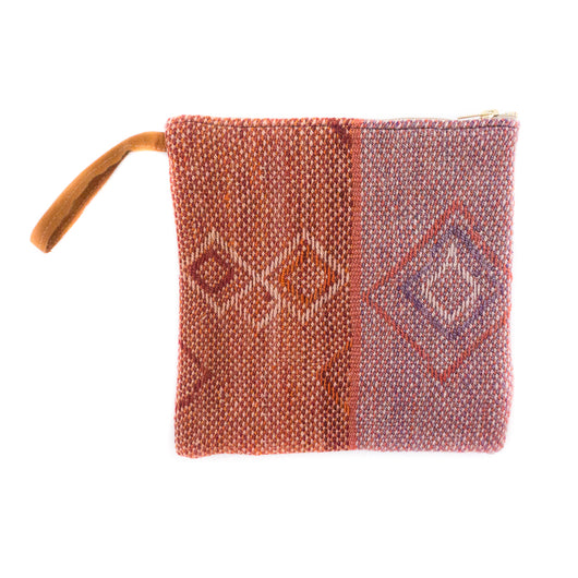 Peruvian Frazada Clutch - Provence || Keeka Collection