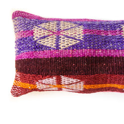 Frazada Long Lumbar Pillow - Fiesta || Keeka Collection