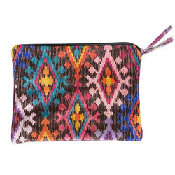 Large Cosmetic Pouch / Clutch - Lora
