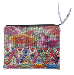 Large Cosmetic Pouch / Clutch - Rosa || Keeka Collection