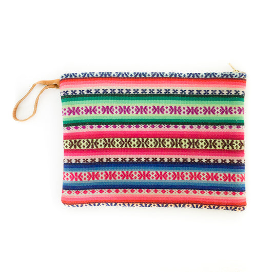 Peruvian Aguayo Clutch - Acapulco || Keeka Collection