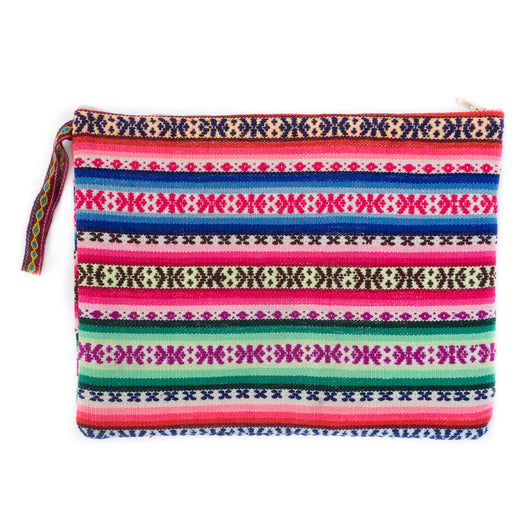 Peruvian Aguayo Clutch - Maya || Keeka Collection