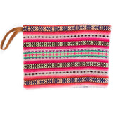 Peruvian Aguayo Clutch - Palma || Keeka Collection