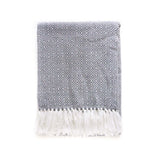 Peruvian Alpaca Blanket - Storm || Keeka Collection