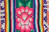 Peruvian Embroidered Aguayo Clutch - Hibiscus || Keeka Collection