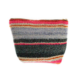 Peruvian Frazada Makeup Bag - Sofia || Keeka Collection