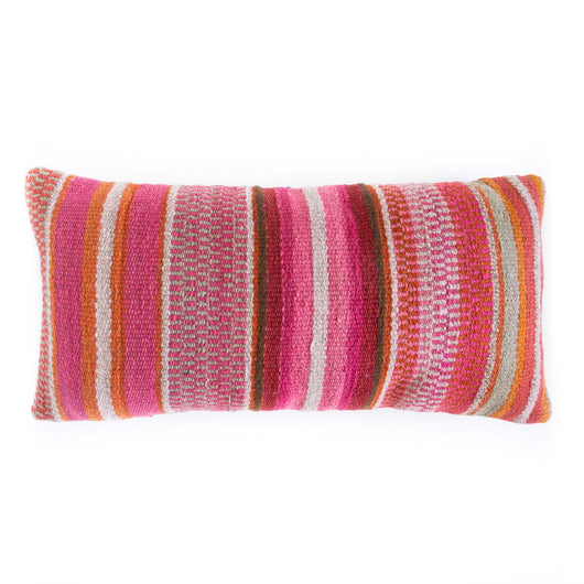 Frazada Lumbar Pillow - Begonia || Keeka Collection