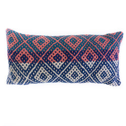 Frazada Lumbar Pillow - Las Coloradas || Keeka Collection