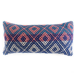 Frazada Lumbar Pillow - Marina || Keeka Collection