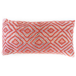 Frazada Lumbar Pillow - Rose || Keeka Collection