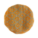 Frazada Round Pillow - Calabaza || Keeka Collection