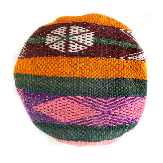 Frazada Round Pillow - Fiesta || Keeka Collection