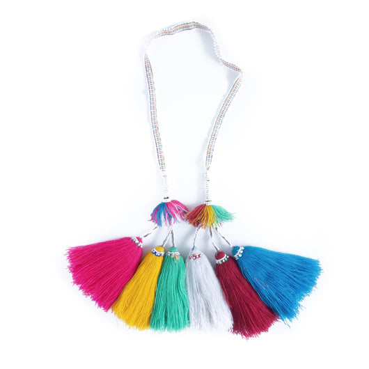 Hanging Peruvian tassel garland - Ica || Keeka Collection