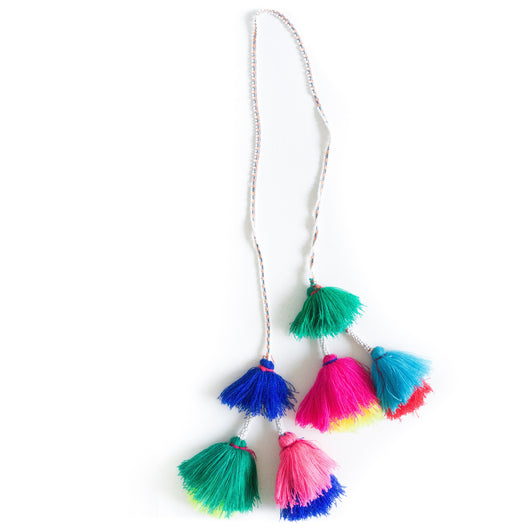 Hanging Peruvian tassel garland - Lima / / Keeka Collection