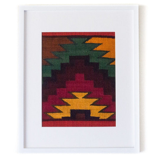 Peruvian Wall Hanging - Berry || Keeka Collection