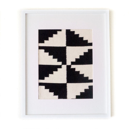 Peruvian Wall Hanging - Black + White Step by Step || Keeka Collection